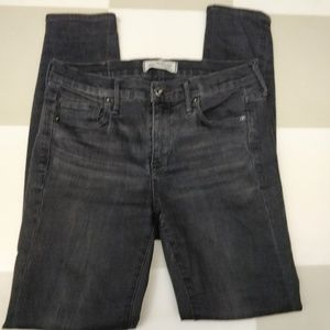 Madewell Black Skinny Jeans 25
